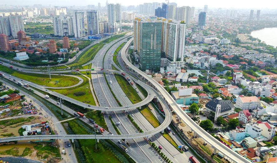 Bất động sản chờ đòn bẩy cực lớn từ những hạ tầng