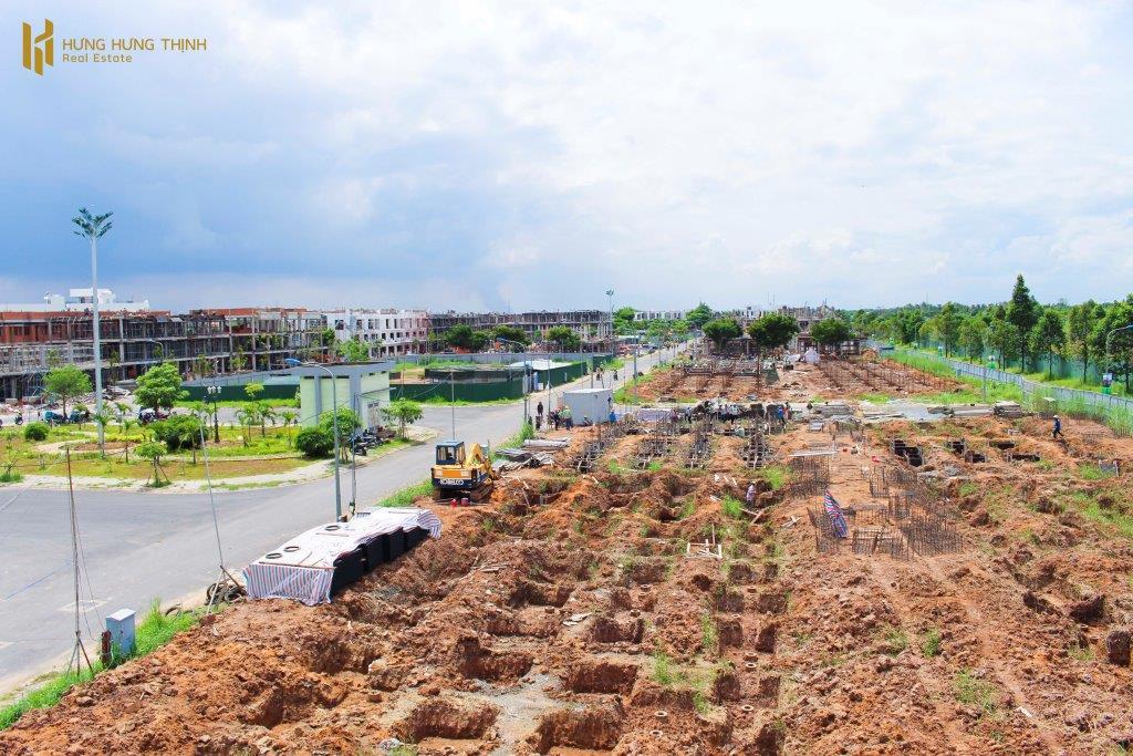 Tiến độ xây dựng dự án Ba Son – Đông Tăng Long Hưng Phúc giai đoạn I